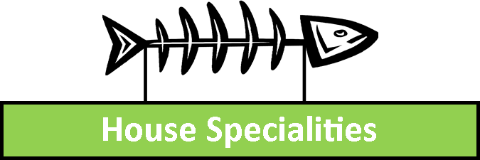 House Specialities Menu
