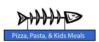 Pizza, Pasta and Kid's Menu