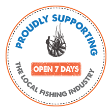 Proudly supporting the local fishing industry