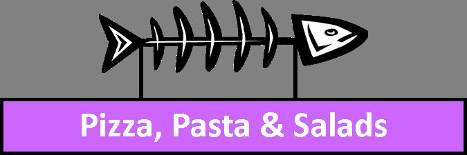 Pizza, Pasta and Kid's Menu
